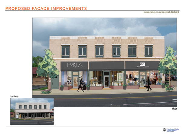 South Grand Proposed Facade Improvements
