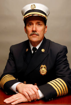 Fire Chief Dennis Jenkerson 2013
