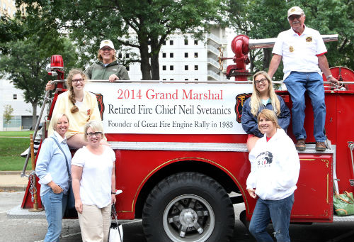 2014 Fire Engine Parade Grand Marshal