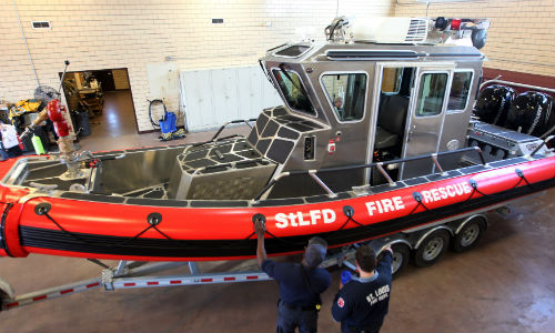 New Fire Boat