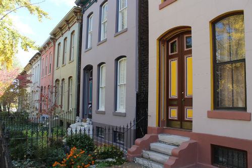 Lafayette Square recognized as one of nation's prettiest painted places by The Paint Quality Institute.