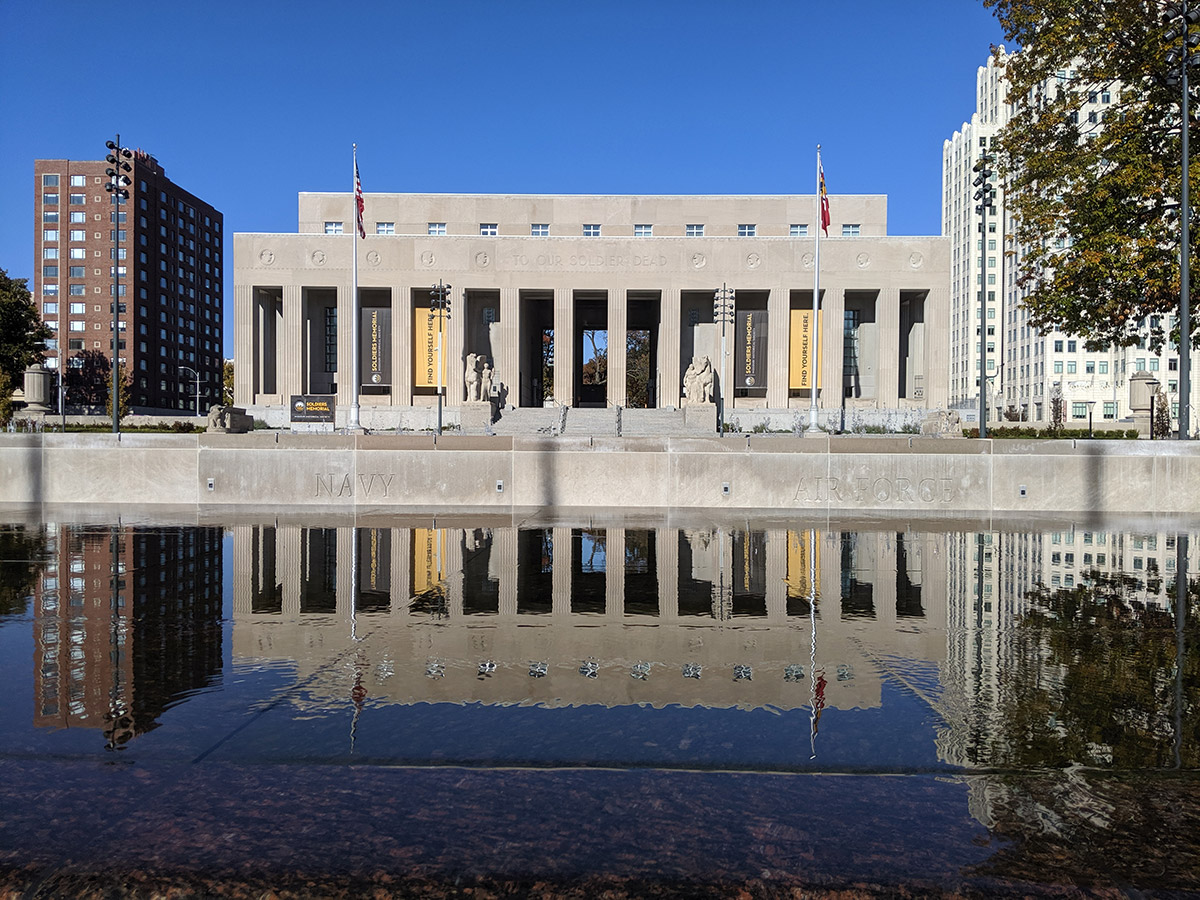 Soldiers Memorial Museum Reflecting Pool