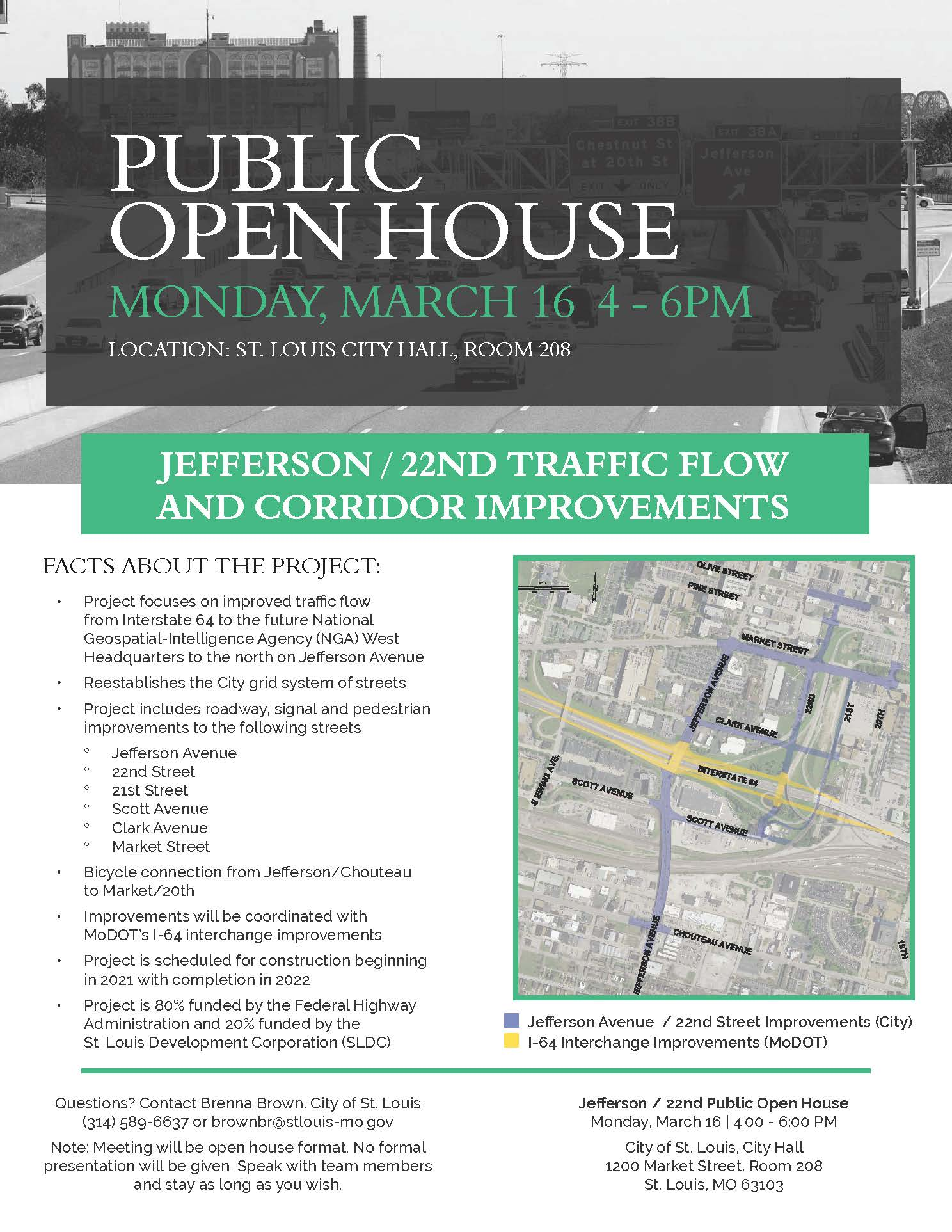Public Open House Flyer