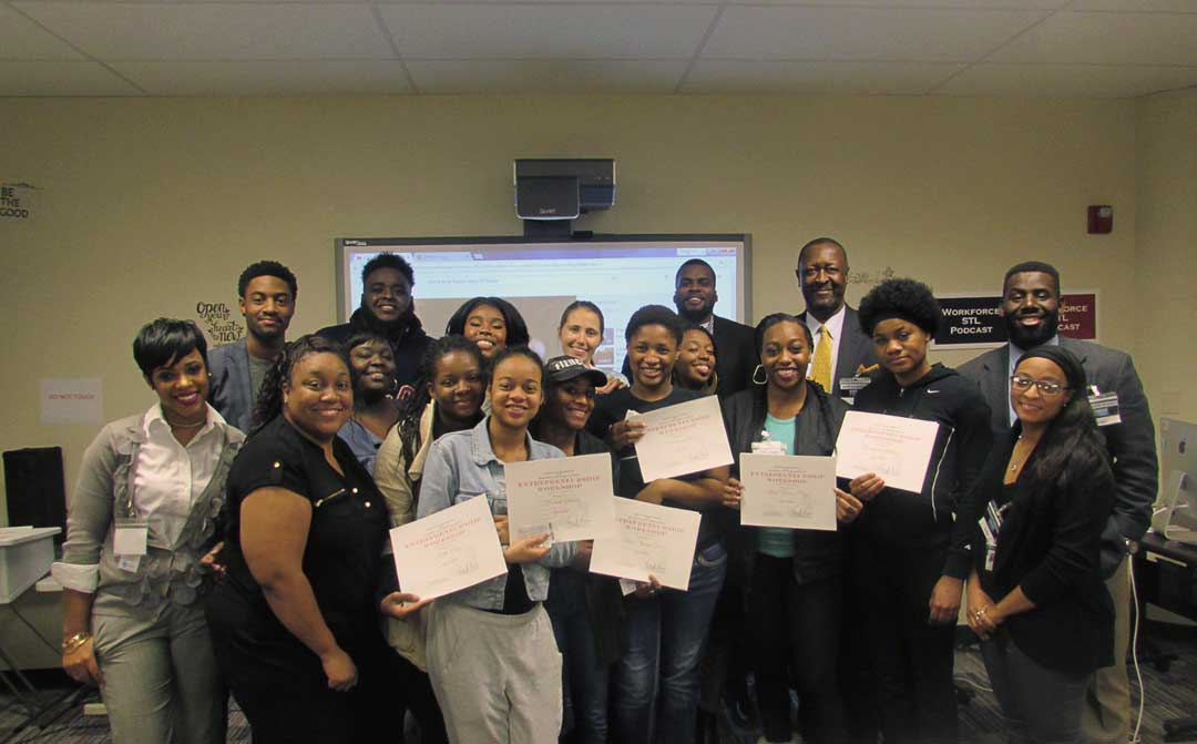Entrepreneurial Workshop for St. Louis Youth
