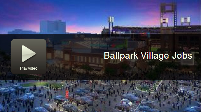 Ballpark Village TV Segment Cover