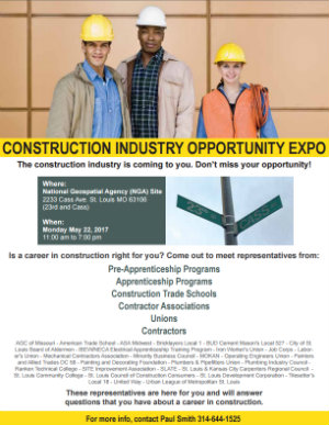 Construction Industry Opportunity Expo 2017 Flyer