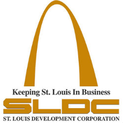 St. Louis Development Corporation Logo - Golden Arch Keeping St. Louis in Business