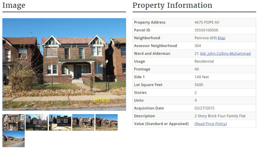 LRA Search Results for Property Details