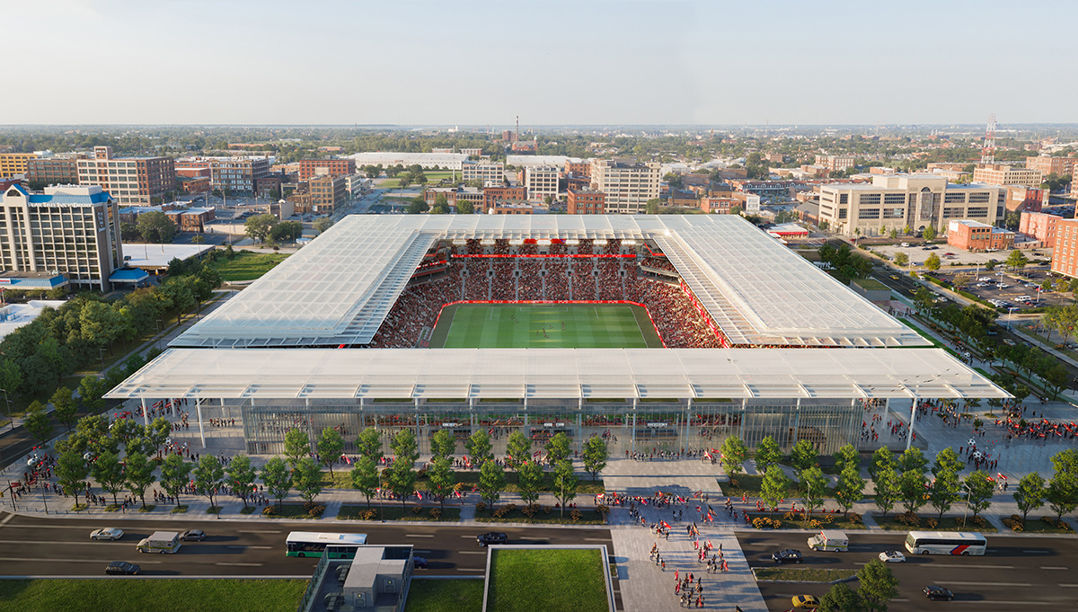 MLS Stadium Render - Close South