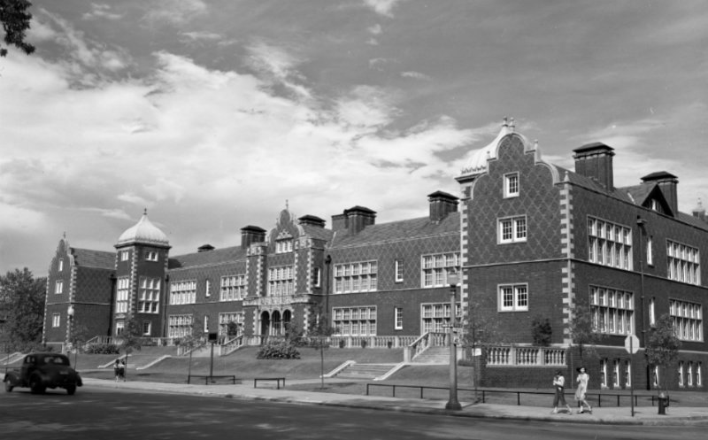 Soldan Blewett High School- 1940's Photograph