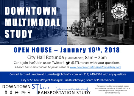 Down Town Multi-Modal study flyer thumbnail