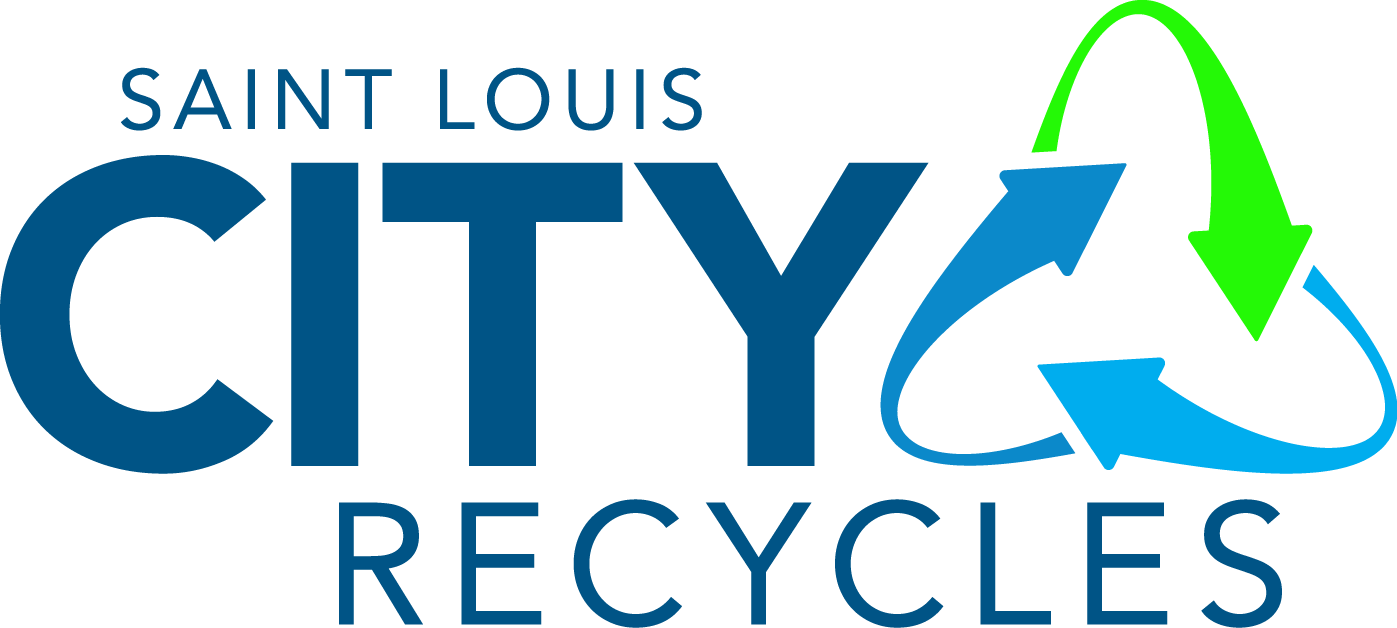 Co color art st louis - Saint Louis City Recycles Blue Text Color