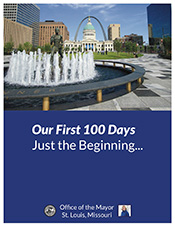 Cover page of Mayor Krewson's First 100 Days report