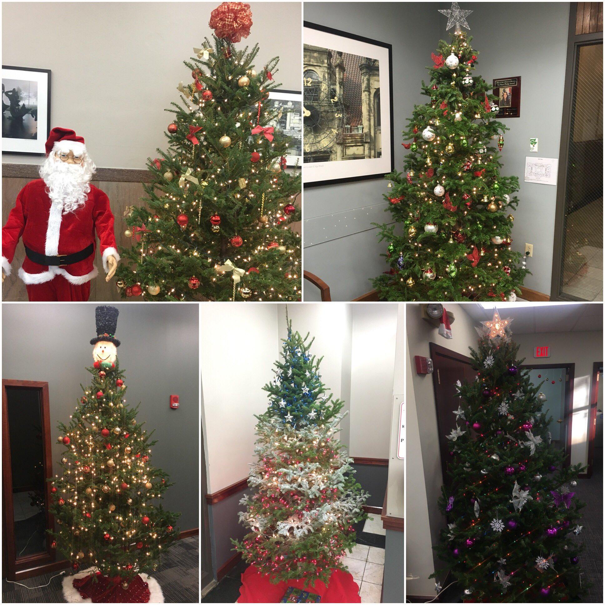 Christmas Tree Inspiration 2017: 2017 Christmas Trees