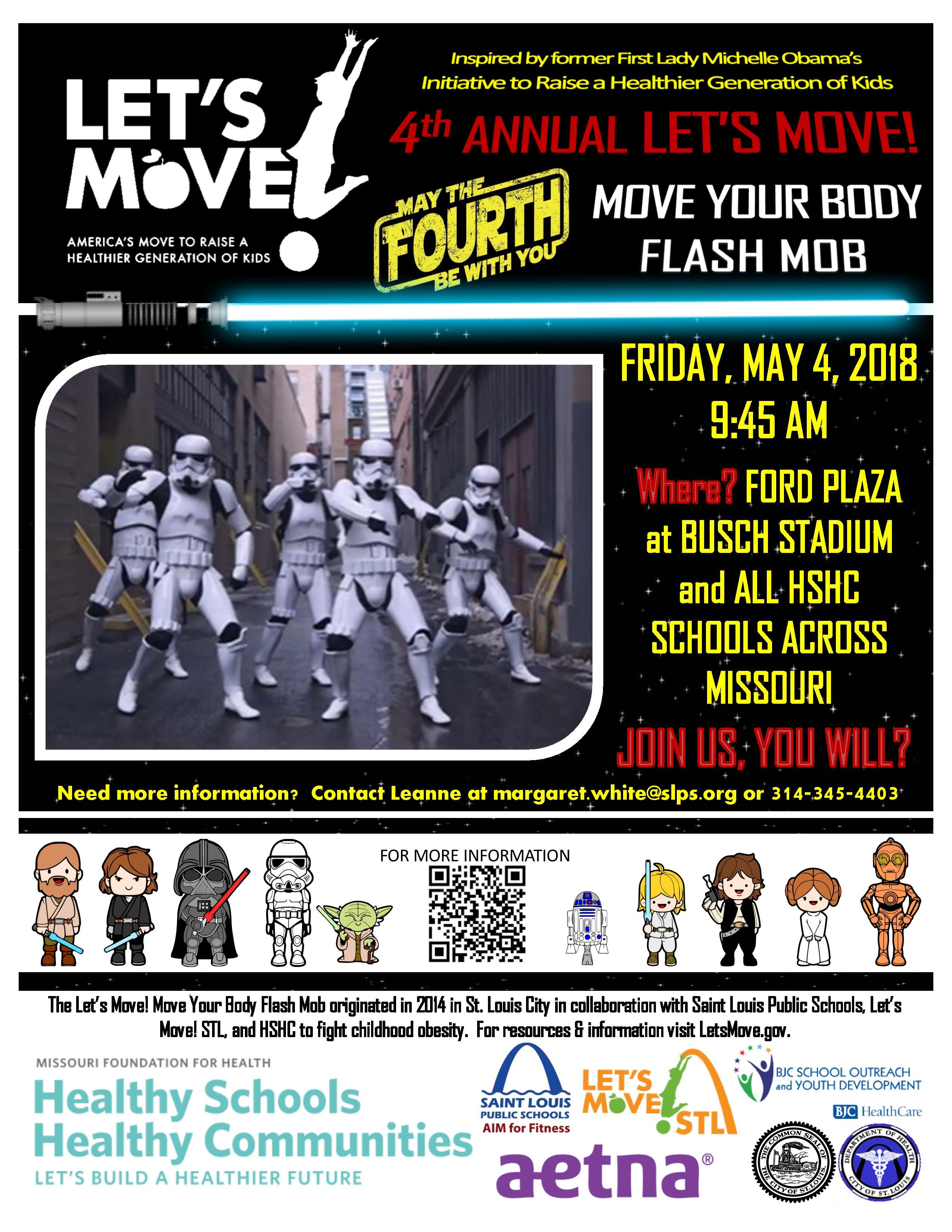 2018 Let's Move STL Flash Mob - May 4, 2018