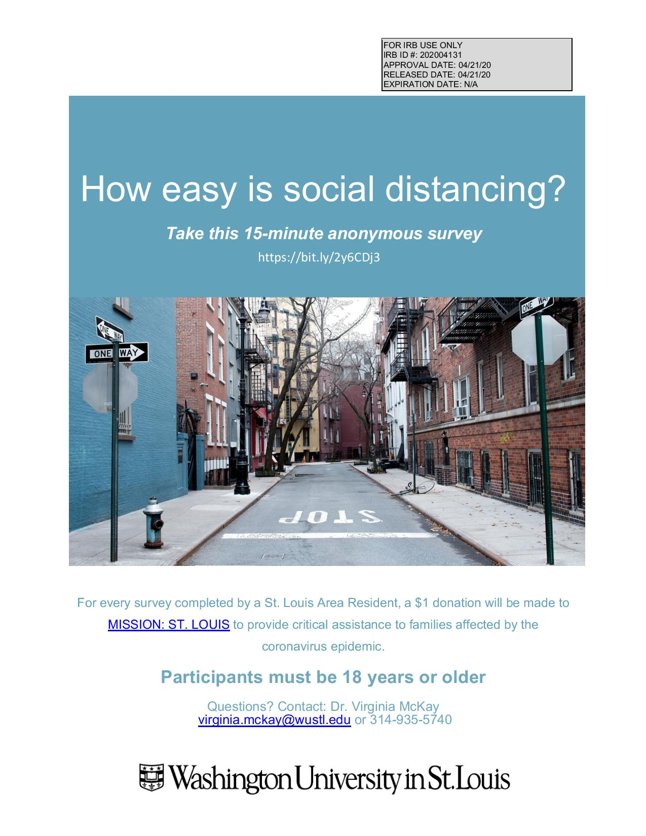 Social Distancing Survey