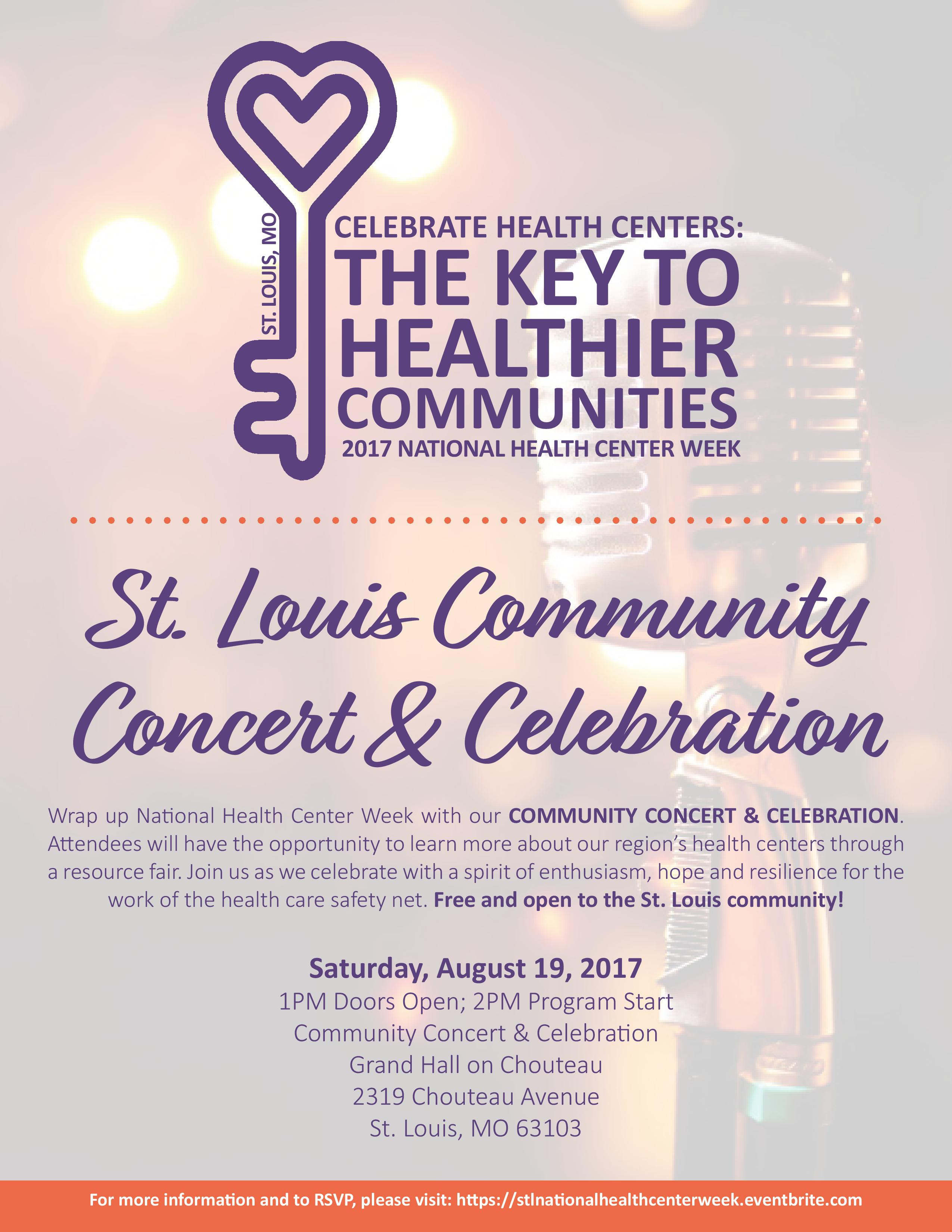 August 19, 2017 NHCW Concert