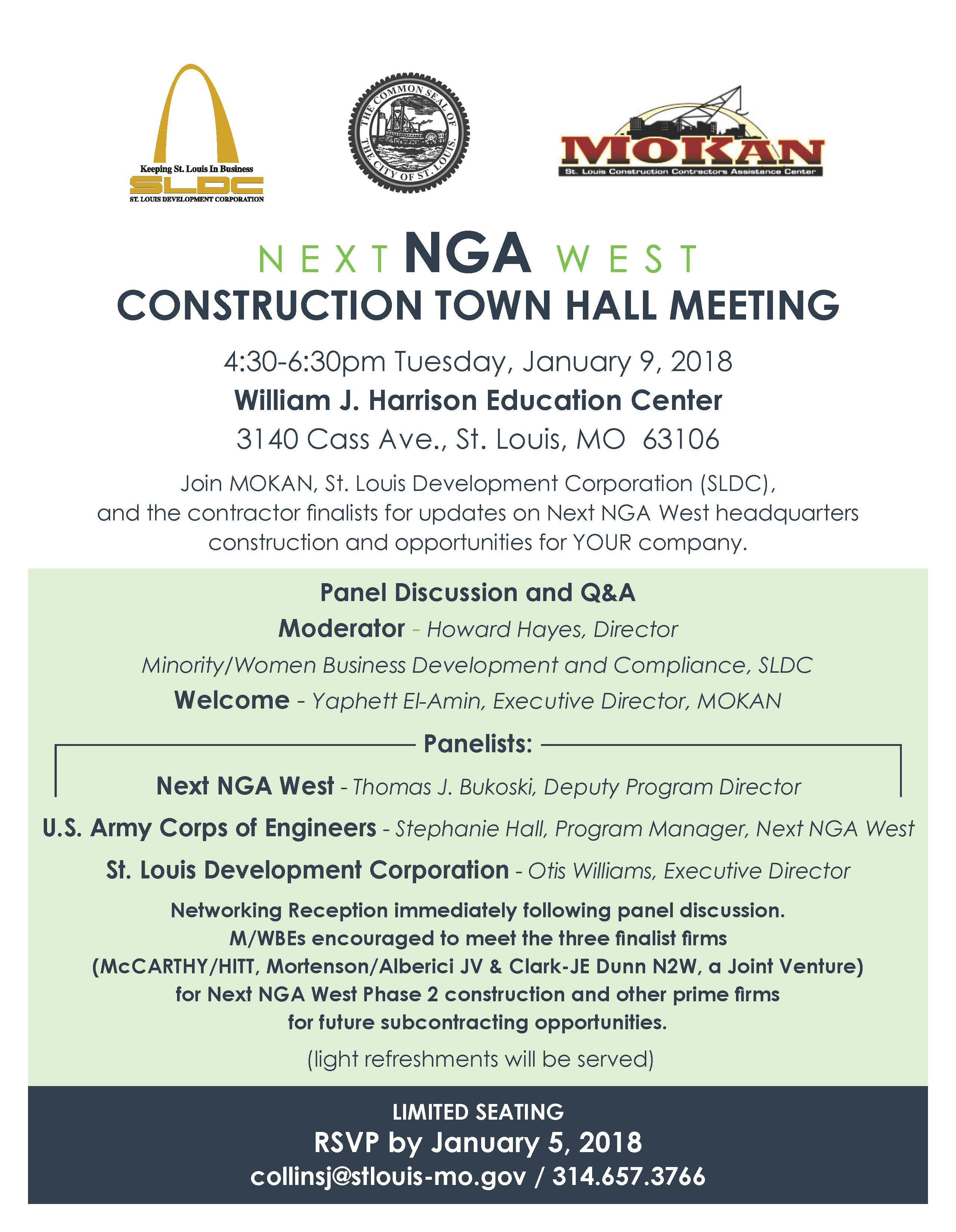 NGA Construction Town Hall Meeting