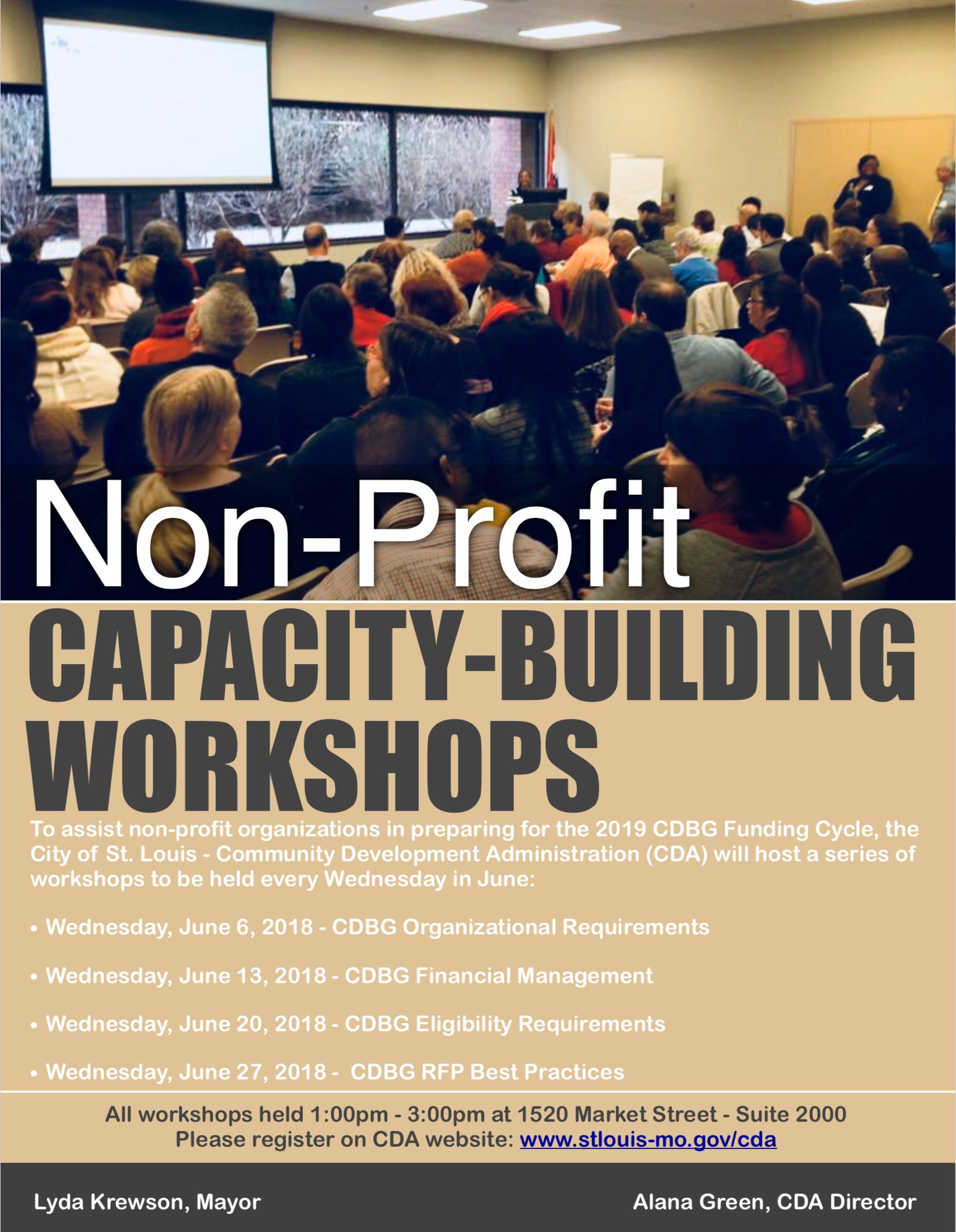 Cda Capacity Building Sessions