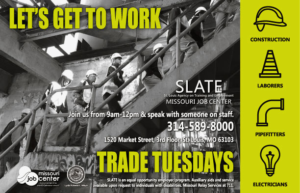 Trades Tuesday flyer