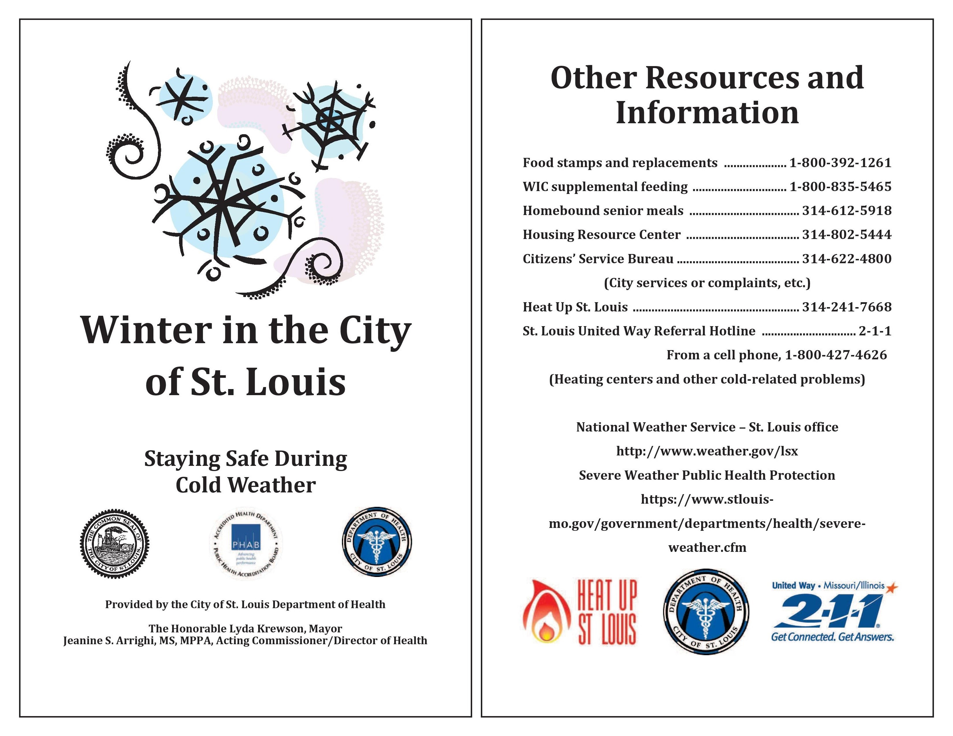 Winter in the city cover page 2018
