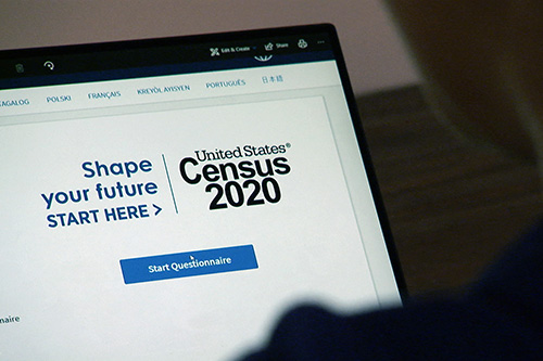 2020 Census computer photo