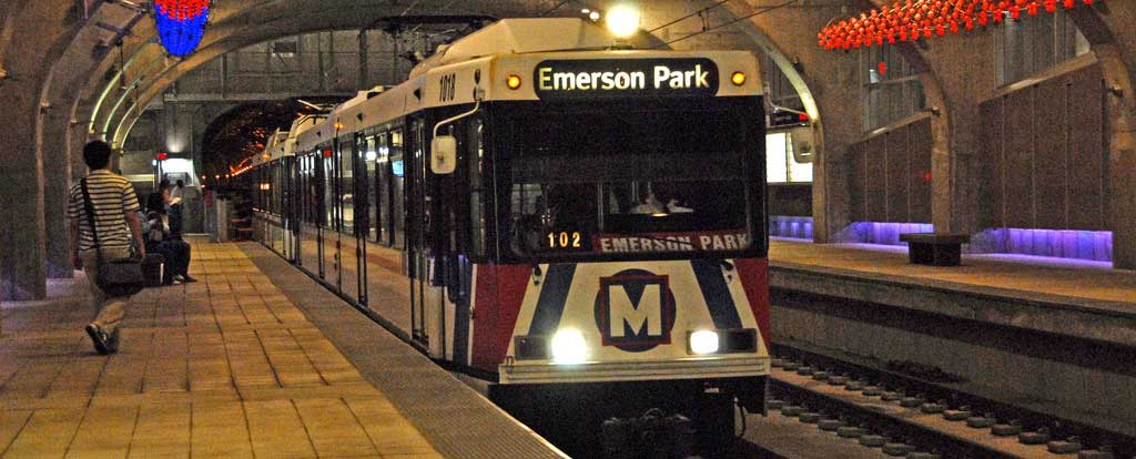 MetroLink Photo by MoDOT Photos