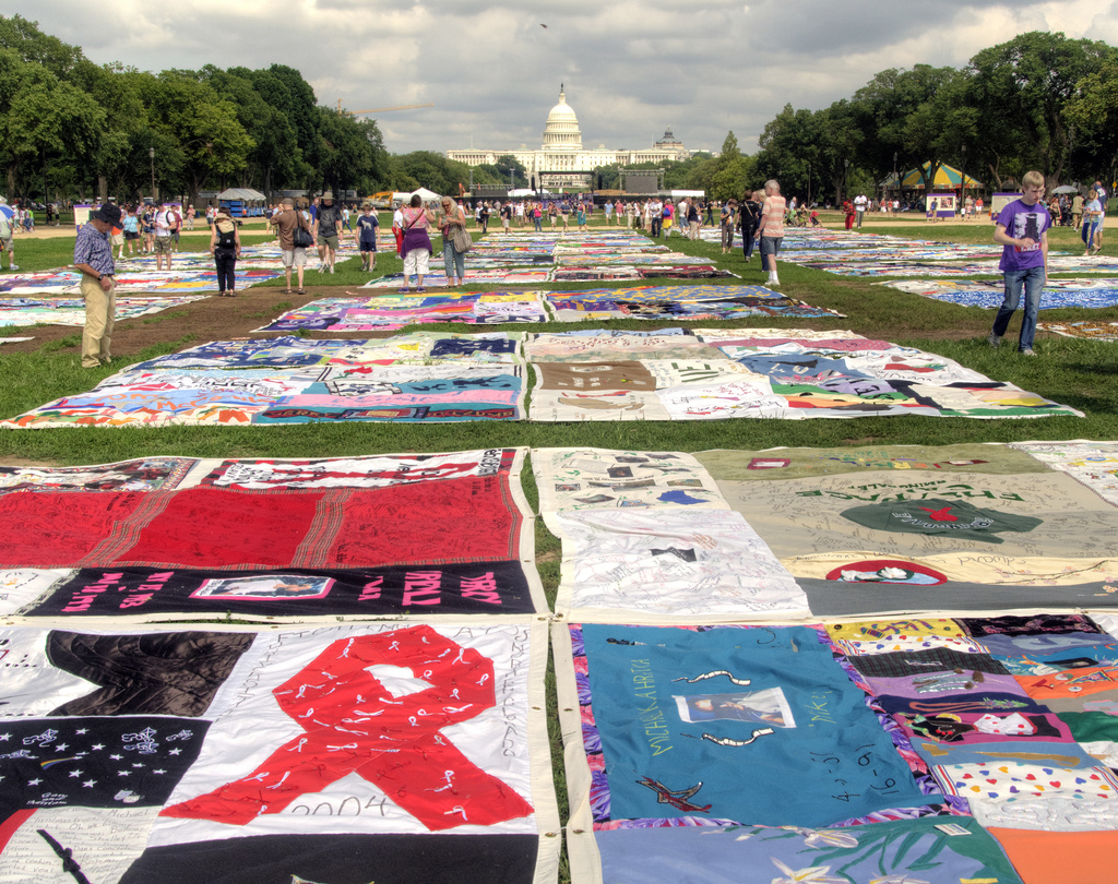 AIDS Quilt in DC