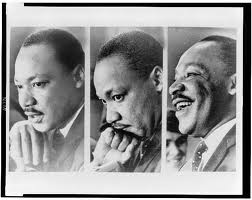 Collage of photos of Dr. Martin Luther King Jr.