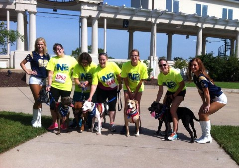 JUMP Team and dogs at 5K_1