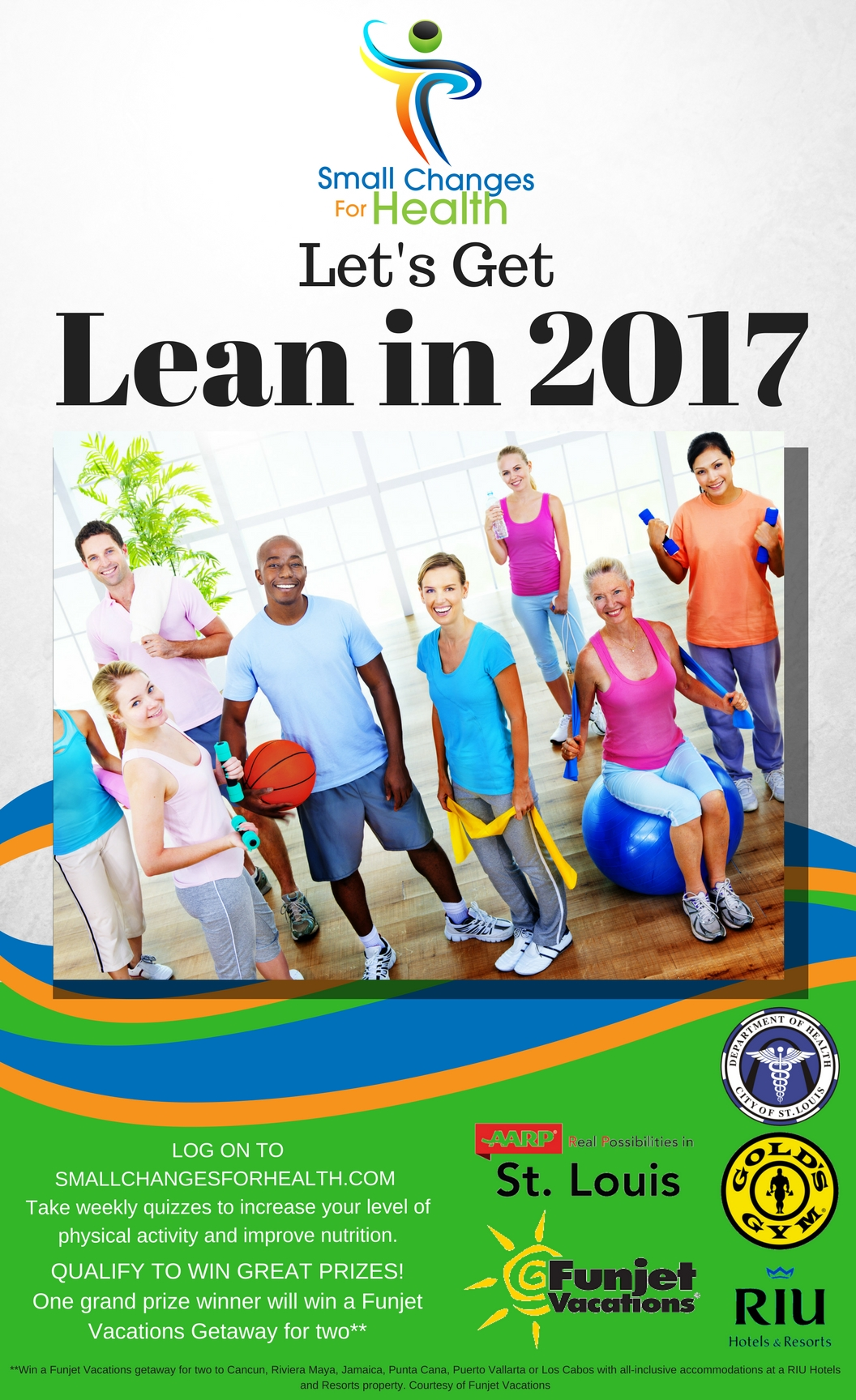 Flyer for the Lean in 2017 program