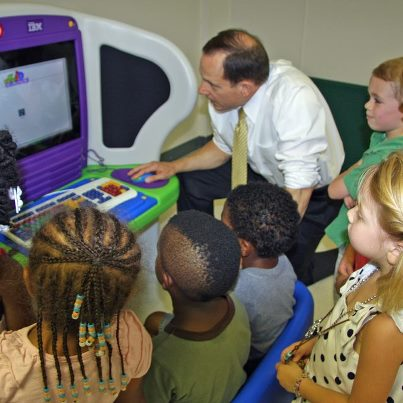 Mayor Slay at CornerStone Center July 27, 2012