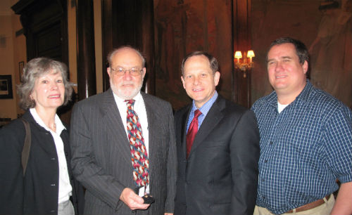 Janet Yung,  Nick Yung,  Mayor Slay and Todd Waelterman on March 16, 2012.