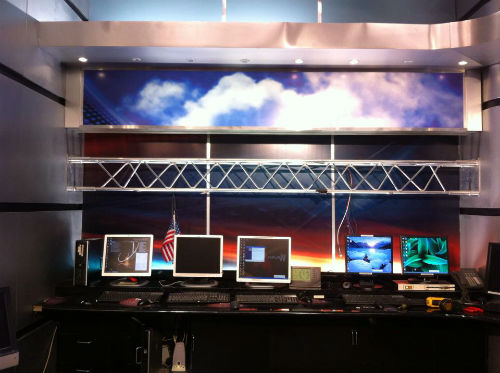 Old news set being removed from KTVI FOX 2 for STL-TV