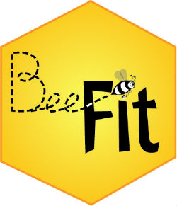 Bee-Fit logo