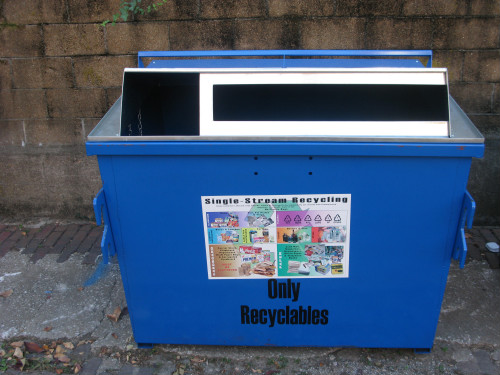 New Recycling Containers